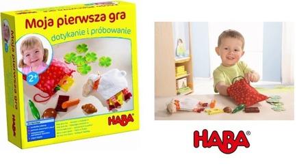 Gra rozpoznawanie przez dotyk - moja pierwsza gra, 2 lata +, HABA