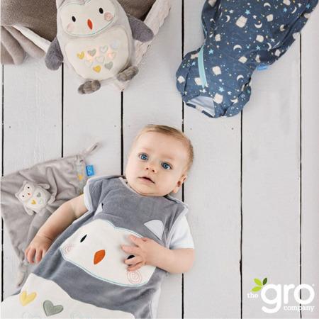 Otulacz - śpiworek dla niemowląt do 3 mies. życia, Grosnug Ollie the Owl Cosy, GRO Company