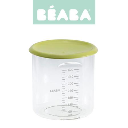 Beaba Słoiczek z hermetycznym zamknięciem 420 ml neon
