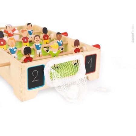 Drewniana gra piłkarzyki MINI - gra KICKER dla dzieci 3 lata +, JANOD J02070