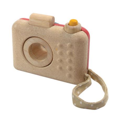 Drewniany aparat fotograficzny dla dzieci z kalejdoskopem, Plan Toys
