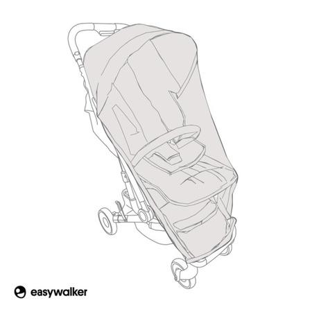 Easywalker Moskitiera do wózka spacerowego Buggy XS