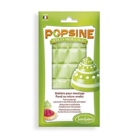 Gips do odlewów gipsowych - odlewy gipsowe popsine wielokrotnego użytku, zielony, 110g SENTOSPHERE