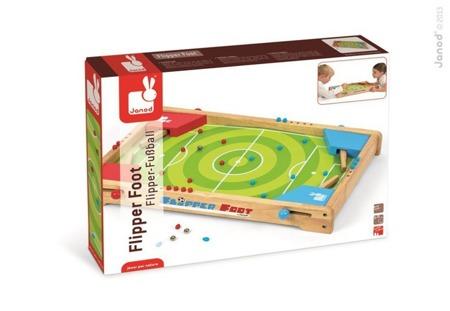 Gra Pinball, Janod - gra zręcznościowa dla dzieci w stylu flippera