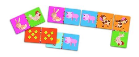 Gra domino zwierzęta na farmie - FARMA, 3 lata +, DJ08158