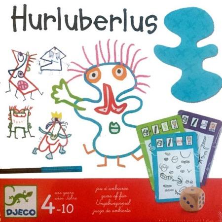 Gra kreatywna HURLUBERLUS - galeria portretów, postaci, 4 lata +, DJECO DJ08468
