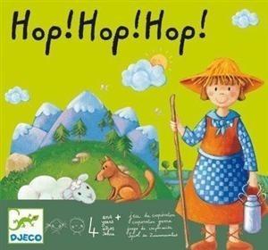 Gra planszowa - pastuszek i owce 4 lata +, DJECO DJ08408