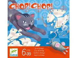 Gra taktyczna CHOP CHOP, 6 lat +, DJECO