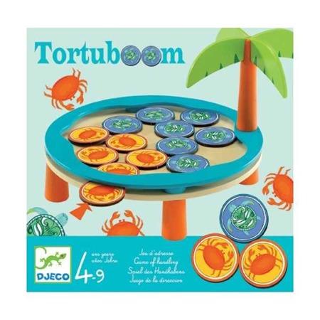 Gra zręcznościowa dla dzieci Tortuboom, kraby vs żółwie, DJECO