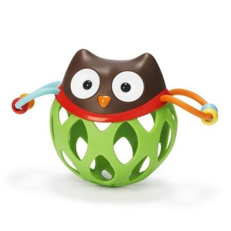 Grzechotka Obal Sowa - sensoryczna piłeczka dla dzieci SKIP HOP 303100