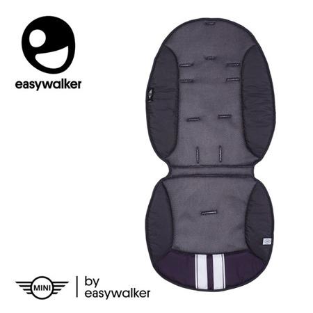 Oddychająca wkładka do wózka na lato - MINI by Easywalker summer inlay Dark Grey