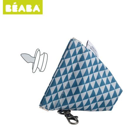 Opakowanie, etui na smoczek Play Print blue - wodoodporne, BEABA