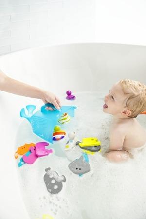 Organizer do łazienki na zabawki dla dzieci - pojemnik Whale Boon, B407