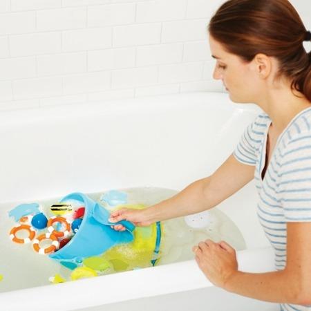 Organizer na zabawki do kąpieli - Wieloryb MOBY, SKIP HOP