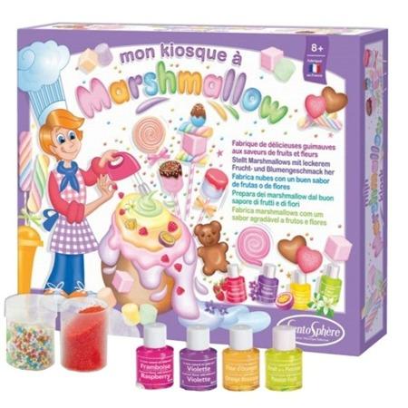 Pianki MARSHMALLOW DIY - kiosk z piankami do robienia dla dzieci SENTOSPHERE