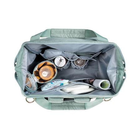 Plecak - torba do wózka dla mamy z akcesoriami Goldie Backpack Mint, Lassig Glam Label