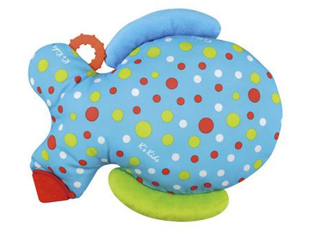 Pluszowa rybka gra pamięciowa - DUŻA RYBKA EDUKACYJNA dla niemowląt K's Kids