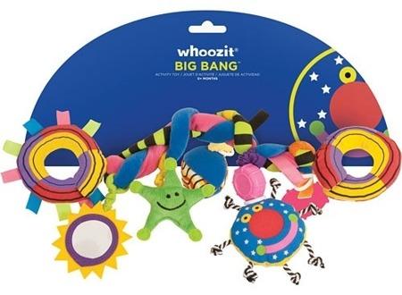 Pluszowa zabawka na łóżeczko do wózka z zabawkami, Whoozit Manhattan Toy