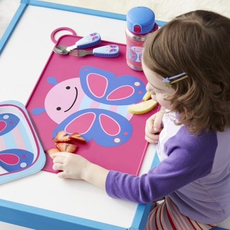 Podkładka stołowa dla dzieci - podkładka gumowa na stół Zoo Motyl, SKIP HOP