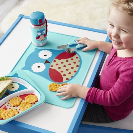 Podkładka stołowa dla dzieci - podkładka gumowa na stół Zoo Sowa, SKIP HOP