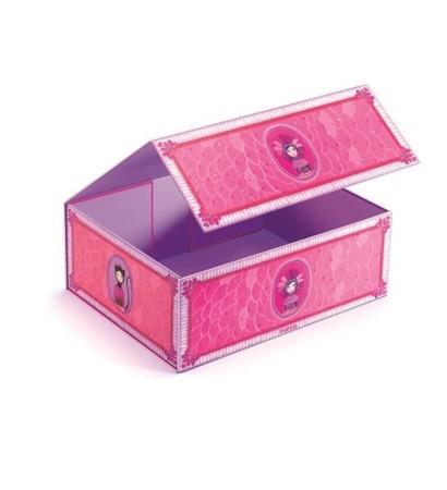 Pudełko, kuferek na biżuterię dla dziewczynki, DJECO DD03220