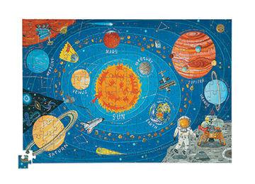 Puzzle Kosmos Planety 200 elementów - puzzle układ planet w kartonowej tubie, Crocodile Creek