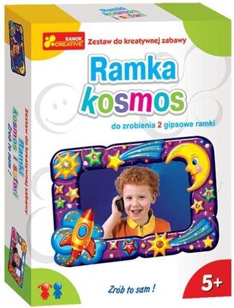 Ramki, kosmos i safari - gipsowa ramka DIY dla dzieci, 5 lat +, RANOK-CREATIVE