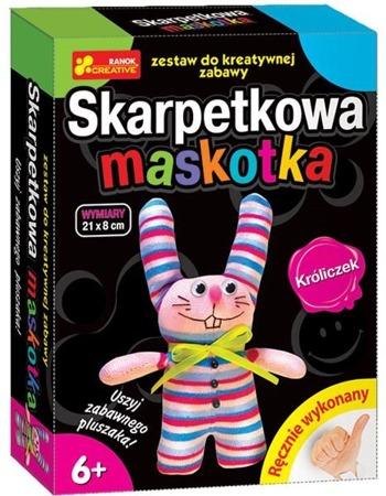 Skarpetkowa maskotka, króliczek - DIY dla dzieci, 6 lat +, RANOK-CREATIVE