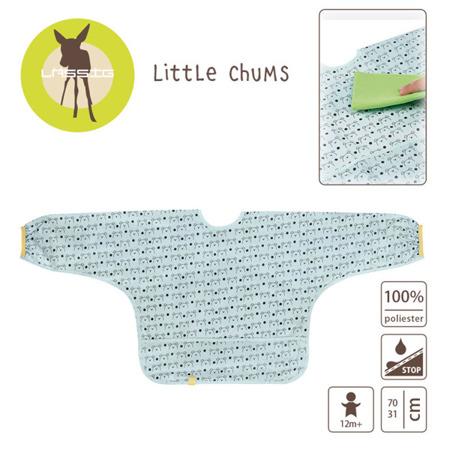Śliniak - fartuszek z długim rękawem dla dzieci 12m+ Little Chums Pies, Lassig