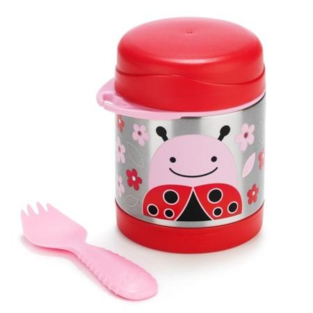 Termos na jedzenie dla dzieci - pojemnik termiczny trzymający ciepło i zimno, Zoo Biedronka, SKIP HOP