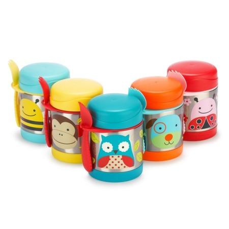Termos na jedzenie dla dzieci - pojemnik termiczny trzymający ciepło i zimno, Zoo Sowa, SKIP HOP