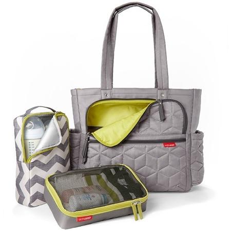 Torba do wózka Torba Forma Grey - pojemna i stylowa torba dla mamy na akcesoria niemowlęce, SKIP HOP