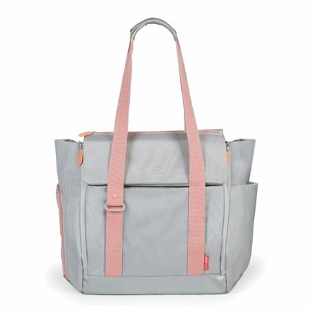 Torba do wózka - torebka dla mamy Fit All-Access Platinum/Coral, SKIP HOP