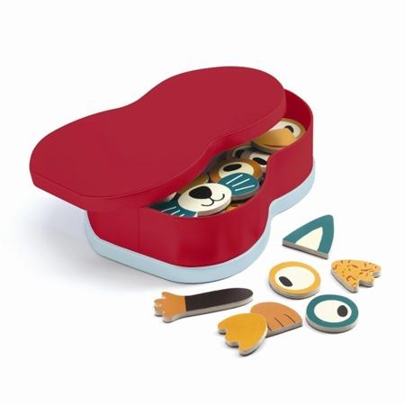Układanka magnetyczna dla młodszych dzieci 2 lata + - zwierzęta DJECO DJ03085