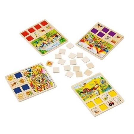 Układanka pamięciowa typu memo (memory), gra logiczna, loteria wielu przygód, GOKI