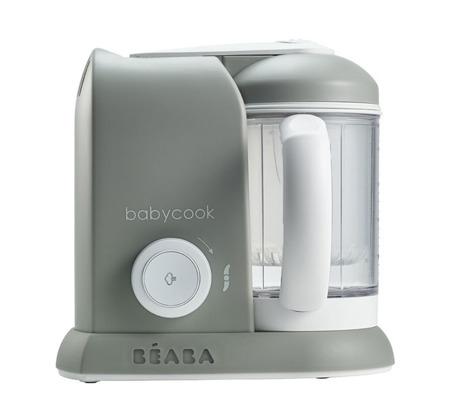 Wielofunkcyjne urządzenie, automat do miksowania i gotowania na parze dla dzieci i niemowląt - Babycook® grey, BEABA