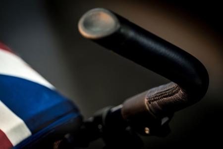Wózek spacerowy / spacerówka z osłonką przeciwdeszczową  6,5kg Midnight Jack, MINI by Easywalker