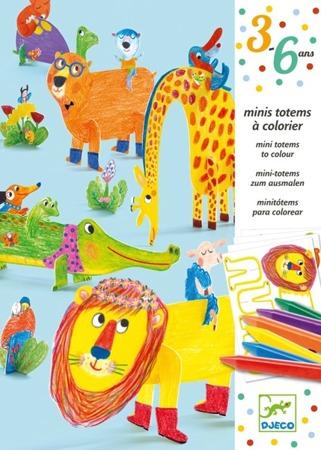 Zestaw artystyczny - zwierzątka do składania DJECO, DJ09861
